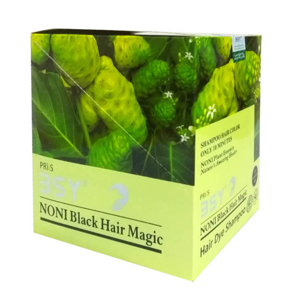 BSY Noni Black Hair Magic 20ml x 20 Sachets