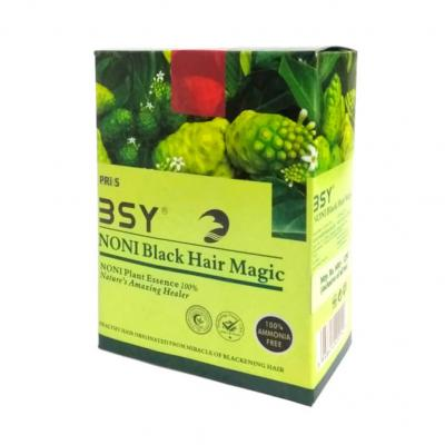 BSY Noni Black Hair Magic 12ml x 12 Sachets