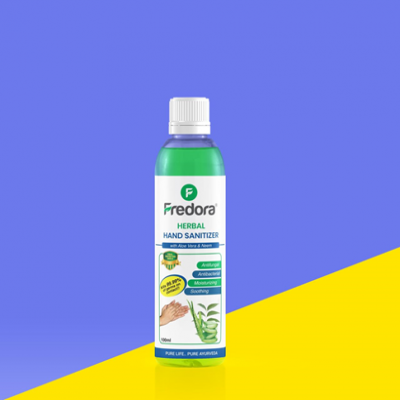 Fredora Herbal Hand Sanitizer 120 ml
